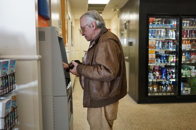 Olavo no ATM - Foto: Josias Teófilo
