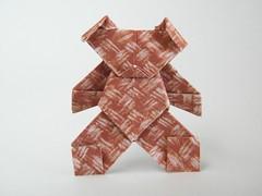 Teddy Bear - Katsushi Nosho (Rui.Roda) Tags: origami papiroflexia papierfalten urso ours oso peluche nounours osito teddy bear katsushi nosho