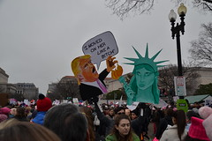 """""""I Moved On Her"""" (railsnroots) Tags: demonstrations first amendment womens march protest signs"""