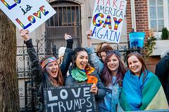 LGBT Solidarity Rally (mathiaswasik) Tags: lovetrumpshate notmypresident 2017 lgbt lgbti lgbtiq nyc newyork politics protest stonewallinn trump usa