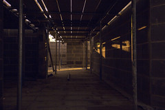 Underground overground (georgehuthart) Tags: nighshot nightshooters construction builders eos5d canon canonlens canonshot constructed scaffold scaffolding