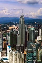 View from KL tower (hrajput89) Tags: nikon d3300 kuala lumpur menara kl tower landscapes building skyline malaysia