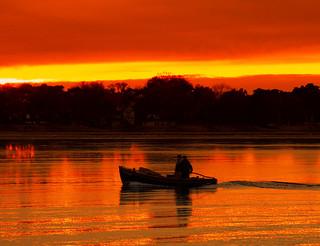 Homecoming of fishermen