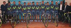 Presentación Movistar Team América 2017