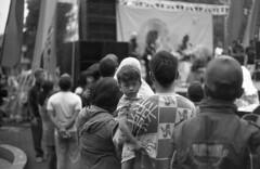 Kid Doesn't like Ethnic Concert (Firly Firman) Tags: concert agfa100 agfaapx100 agfa people pose spotmatic malang pentaxspotmatic streetphotography blackandwhite pancolar bnw 35mmfilm filmphotography monochrome kid sonnar sonnar135mmf35 ethnic