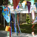 Balloons and bunting
