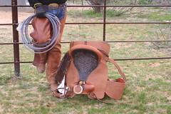 COWBOY PHOTO SHOOT (AZ CHAPS) Tags: ranch arizona leather spurs cowboy rope gloves buckle chaps saddle corral tack bulge wrangler