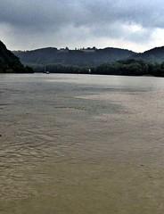 Passau - Where the Waters Meet - Rivers Danube & Inn (zorro1945) Tags: germany bayern deutschland bavaria inn danube passau donau riverinn cityofthreerivers dreiflussestadt