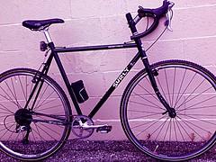 Initial 90% Build (pavementgraveldirt) Tags: black steel parts cm xc build surly 56 cyclocross cromo crosscheck 4130