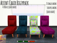 [BOXCAR] Accent Chairs (Bigwon Resident) Tags: life shopping store chair mesh furniture sl secondlife decorating cuddle second boxcar cuddles