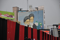 Tehran's Wall Paintings (daeijan) Tags: street wall painting iran tehran   valiasr  khomeini