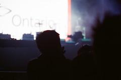Pre-Show Audience (g026r) Tags: toronto ontario canada colour film canon ae1 crossprocess canonae1 manualfocus zoomlens c41 chromogenic fdmount 135film canonfd70210mmf4 roll59 cinestill cinestill800tungsten cinestill800t canonnewfd70210mmf4