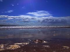 Lahinch beach walk (AlanJ97) Tags: ocean ireland sea summer beach sand jellyfish clare waves walk lahinch lehinch