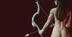 Cupid (GrizzJack) Tags: bow arrow enb highelf skyrim altmer tesv