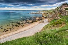 Cummingston (Geoff France) Tags: sea beach coast seaside outdoor wave pebbles coastline moray moraycoast