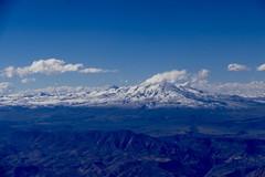 Volcano Chachani 6057 m Arequipa Peru (roli_b) Tags: aerial photo photography flight vuelo arequipa lima peru aerialphoto mountains andes anden berge montanas chachani 6057 m 6057m berg vulkan südamerika