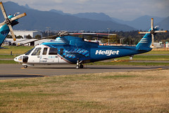 C-GHJP (wiltshirespotter) Tags: vancouver helijet sikorsky s76 cyvr