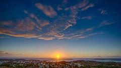 Sunset Grundsund (Filip Nystedt) Tags: sunset sky clouds europa sweden skandinavien himmel sverige scandinavia westcoast bohuslän solnedgång moln grundsund västkusten skaftö västragötalandslän canonef14mmf28liiusm canon5dmarkiii