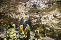 Grotte di Castellana, Apulia, Italy (Mattia Lepri) Tags: old italy colors beautiful rocks italia grotto freehand castellana puglia grotte highiso apulia stalagmiti salattiti