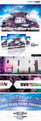 Come On! Party Flyer Template (touringxx) Tags: world show city party sky urban music fashion promotion horizontal modern buildings shopping disco dance promo concert glamour dj outdoor earth creative band aerialview nightclub entertainment trendy planet fest