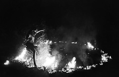 Kecak/Fire dance at Ulu Watu temple in Bali, Indonesia
