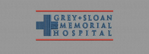 Grey's Sloan - embroidery digitizing by Indian Digitizer - IndianDigitizer.com