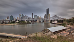 STORY BRIDGE,  08.11.2015 (16th man) Tags: bridge november skyline australia brisbane qld queensland 5d storybridge newfarm mkiii brisbaneskyline wilsonsoutlook 2015brisbane 2015canoneoseos
