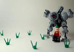 - THE CHIKEN - (SenSeiSei) Tags: robot lego military walker legos mecha mech