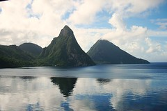 Pitons from Jade Mountain (Lonfunguy) Tags: unesco caribbean jademountain pitons saintlucia