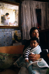 "Inside a ""lower class"" home in the outskirts of Mexico City"