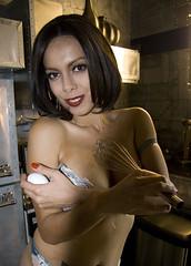 Julia (bretthampton1963) Tags: light shadow kitchen beauty smile model eyes egg artofimages bestportraitsaoi