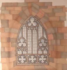 Duomo di Milano cathedral gothic window (Kate_Lokteva) Tags: art sketch drawing sketchbook marker draw markers artworks letraset promarkers