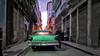 CUBA La Habana Coche verte (stega60) Tags: street old houses light sunset luz car cat evening calle cuba vieja coche tarde verte lahabana lapuestadesol stega60