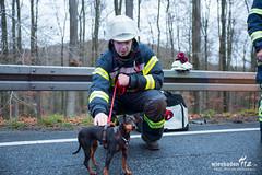 Verkehrsunfall B54 Eiserne Hand 14.11.15 (Wiesbaden112.de) Tags: nef crash vu rtw kurze lna b54 verkehrsunfall nassefahrbahn seitenaufprall olrd schleudern beifahrerseite elrd