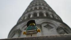 Leanin' Thunder (AyliffeMakit) Tags: italy holiday photography photo florence lego photos tuscany legos johnny minifig minifigs thunder irl minifigure 2015 minifigures
