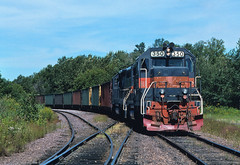 Itasca 1996 (Missabe Road) Tags: up 350 dh 7610 unionpacific itasca gp392