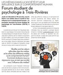 Forum tudiant de Psychologie  Trois-Rivires (Rencontre de Dcembre 2015) (forumfeptr) Tags: pierre forum universit christian page doc tudiant troisrivires psychologie mailloux feptr