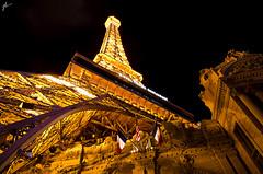 Paris, Las Vegas (JH Photographie) Tags: city las vegas madame gambling money paris france tower night photography nikon long exposure forum nevada caesar eiffel palace casino chips nv poker sin shops mirage 1224mm tussauds the 18200mm d7000