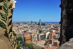 The Torre Agbar from Casa Milà