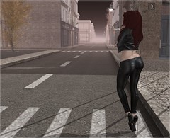 A peek from behind (Photography by Veenya) Tags: ass truth blueberry secondlife swallow ooo addams slink veenya vforveenya glamistry asphyxiationpoint