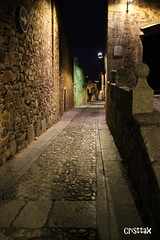 Cceres Medieval (Crispula Sintax) Tags: streets stones medieval oldtown cceres historia extremadura