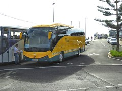 Volvo B11R With Atomic Bodywork. Funchal, Madeira. (ManOfYorkshire) Tags: travel bus yellow volvo coach style windsor atomic madeira funchal bodywork b11r 84og40