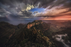 Wotans Crescendo (Mark Metternich) Tags: arizona rainbow desert north grand canyon vista lightning rim tours epic throne workshops wotans markmetternichcom