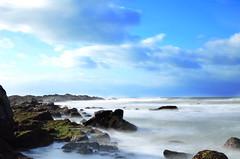 Plage du Paracou aux Sables-d'Olonne (dreamearth 85) Tags: morning beach pose plage matin vendée atlantique océan longue lessablesdolonne paracou poselongue d7000