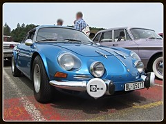 Alpine Renault A110, 1300S (v8dub) Tags: auto old classic car french schweiz switzerland automobile suisse 110 s automotive voiture renault alpine oldtimer oldcar collector 1300 wagen pkw klassik bleienbach a worldcars