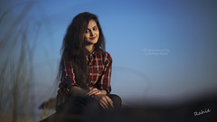 Shormy (Saidul Islam Rahie) Tags: portrait sky moon nature greentree