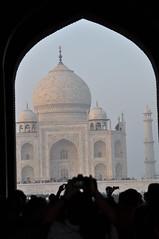 Hymne à l' Amour (ceriser02074) Tags: nikon taj mahal amour paysage inde marbre merveille musulman d90 mausolee