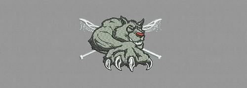 Norfolk Timberwolves - embroidery digitizing by Indian Digitizer - IndianDigitizer.com #machineembroiderydesigns #indiandigitizer #flatrate #embroiderydigitizing #embroiderydigitizer #digitizingembroidery http://ift.tt/1N6CRlw