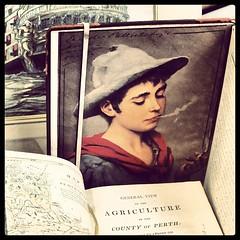 Smoking boy #smoking #boy #oldbooks #antiquebooks #deventer (Marcel van Gunst) Tags: boy smoking deventer oldbooks antiquebooks uploaded:by=flickstagram instagram:photo=40061259771318818255328948