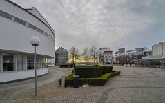 The view from the Concert Hall towards the marina (frankmh) Tags: landscape skne sweden outdoor helsingborg concerthall